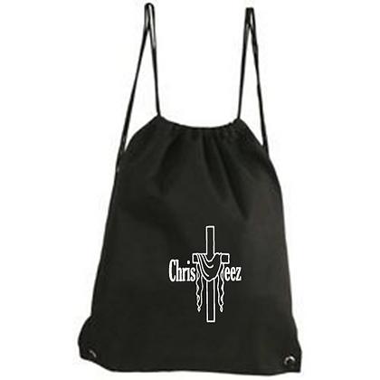 ChrisTeez Black Vinyl Bag