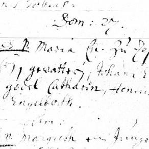 Johann Engel Binckes birth recorD FOUND
