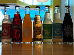 A few of our sodas.