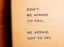 על הפחד מכישלון