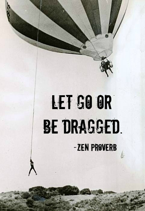 Letting Go Loudly