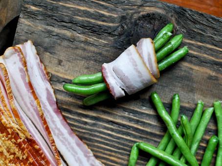 Green Bean Bacon Bundles