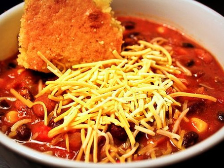 The Best Vegetarian Chili EVER