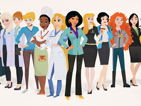 Artist Reimagines Disney Princesses As Career Women And It's Everything