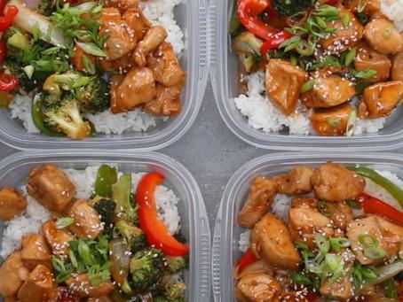 Chicken and Veggie Teriyaki Stir-Fry Bowl