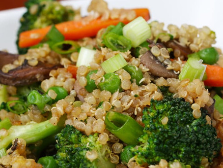"""Skip Take-Out And Make This Flavorful Quinoa """"Fried Rice"""""""