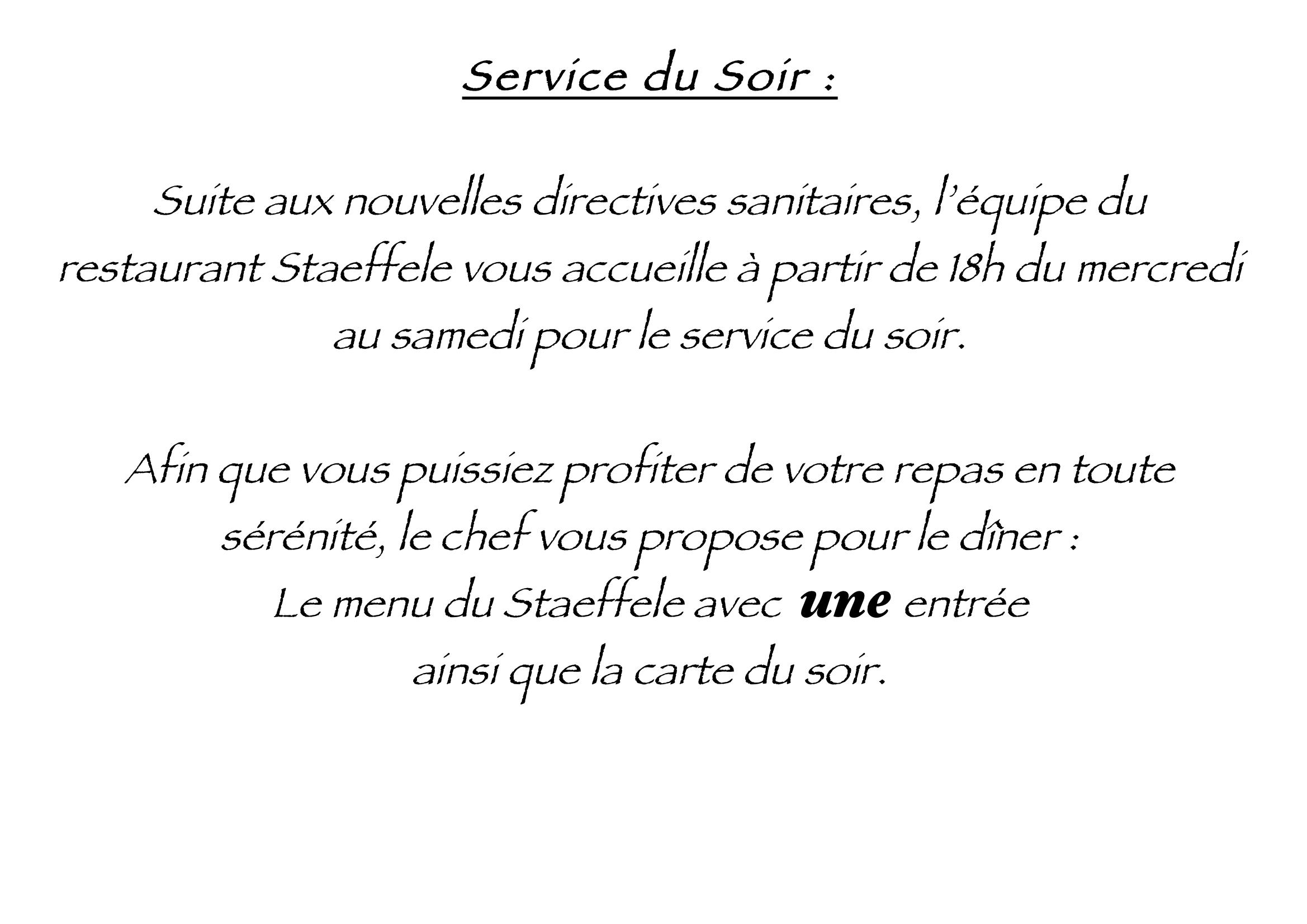 Texte Couvre-Feu