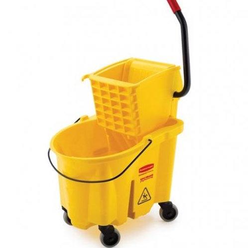 Espremedor e balde plastico
