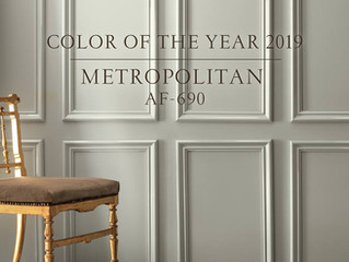 Couleur de l'année 2019 Benjamin Moore | Metropolitan