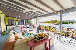 Moondance villa verandah