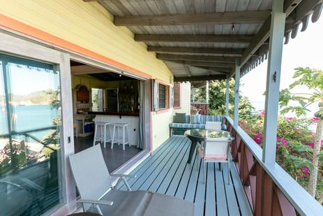 K'ai living area balcony
