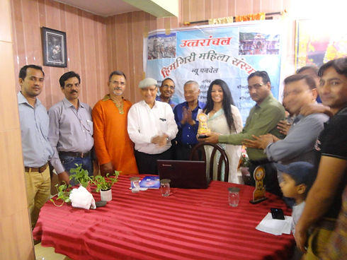 (10) Appreciation by Uttarakhand Associa