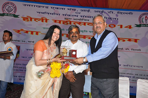 (3) Award for disaster management by IIT