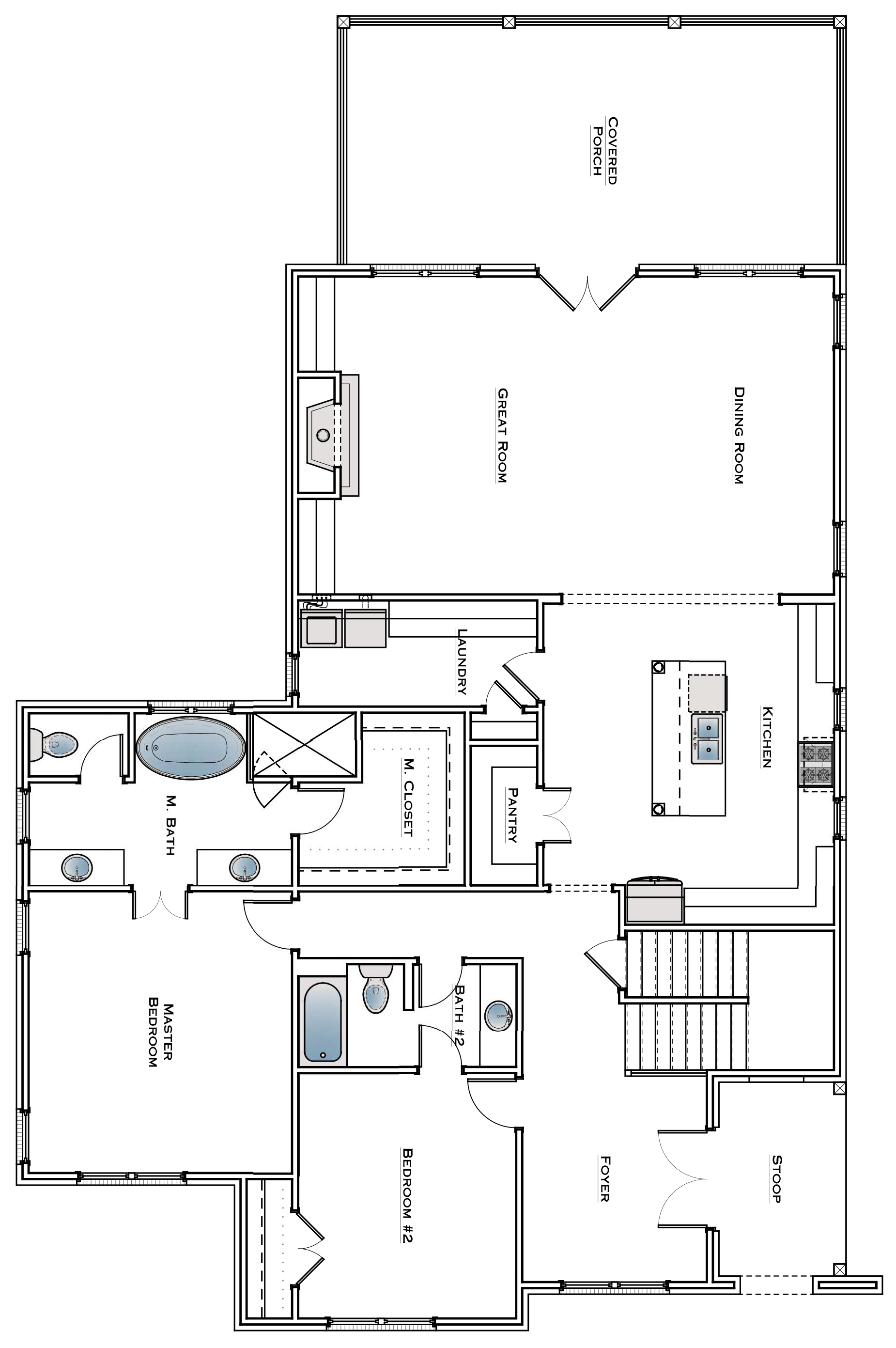 Southbend Lot 8 Main Level