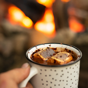 Hot Chocolate Campfire Cocktail
