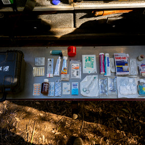 Camping First Aid Kit - What the doctor packs