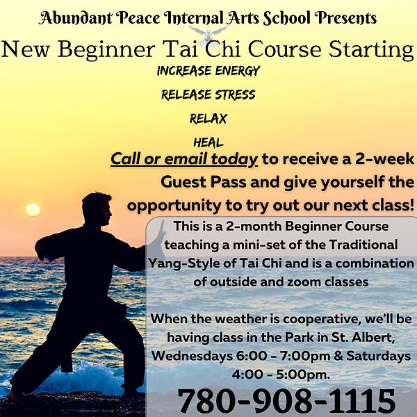 Abundant Peace Internal Arts School Pres