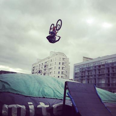 Les urbaines Rennes Freestyle bmx Rlimite