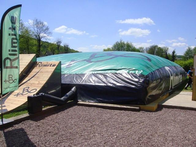 location big airbag vtt bmx dirt rlimite