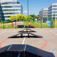 Kids day Dassault System Rlimite mini skate park