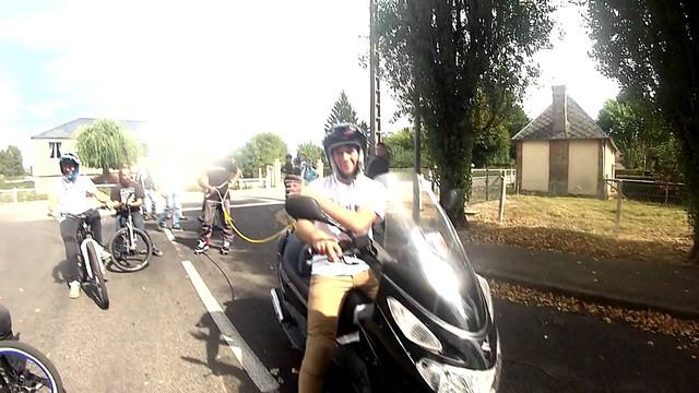BMX stunt Rlimite AIRBAG