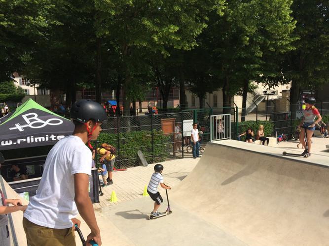 competition skate park rlimite