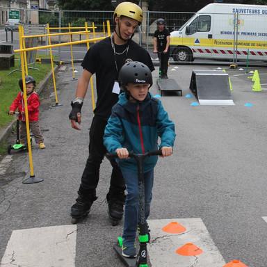 Initiation Mini skate park mobile Stade de France