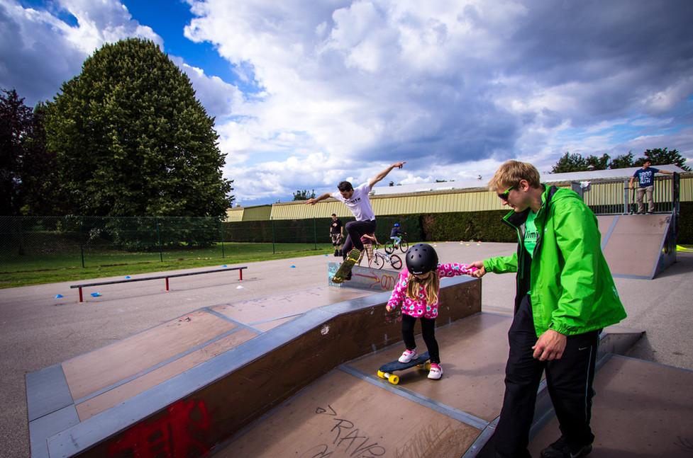 intiation skate roller rlimite