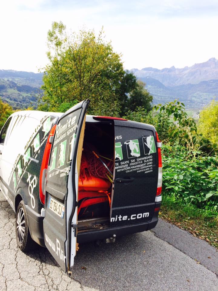 location airbag livraison rlimite