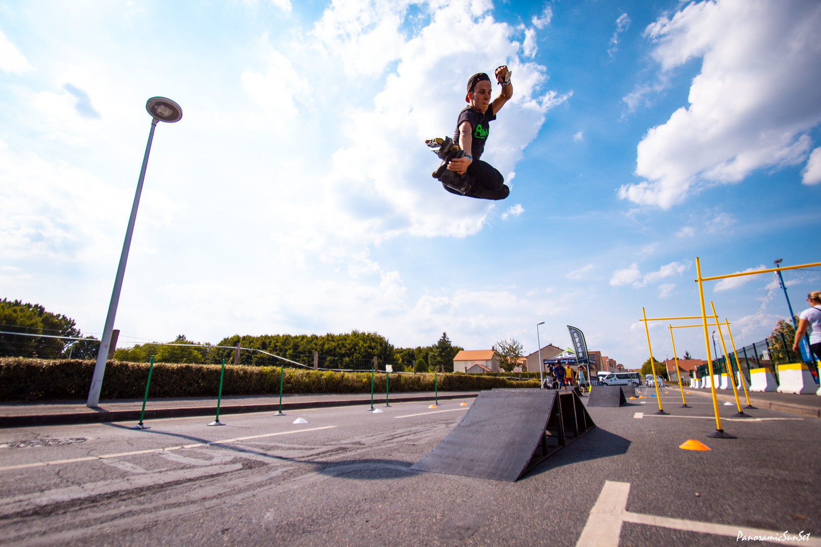 démonstrations mini skate park rlimite paris