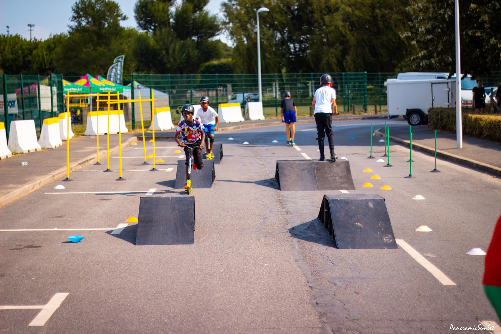 mini skate park rlimite paris