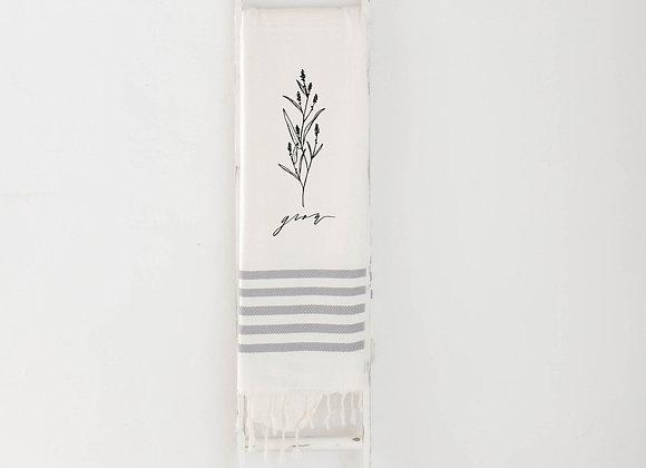 Grow Wildflower Throw Blanket