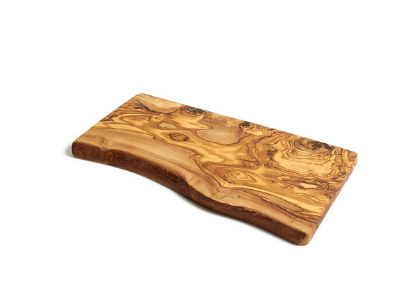 Olive Wood Rustic Cutting Board; Great for Carving Meat