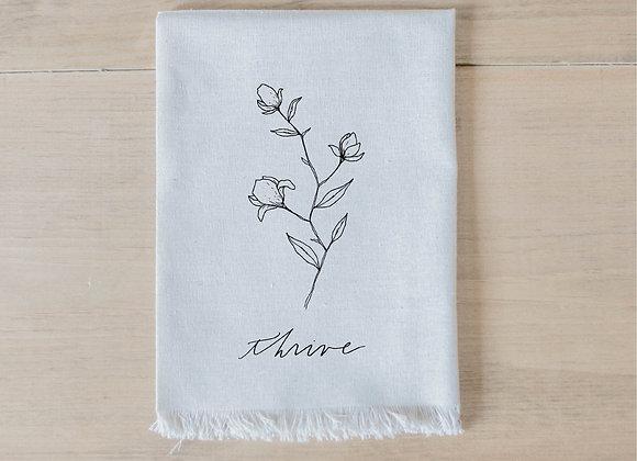 Thrive Wildflower Napkin