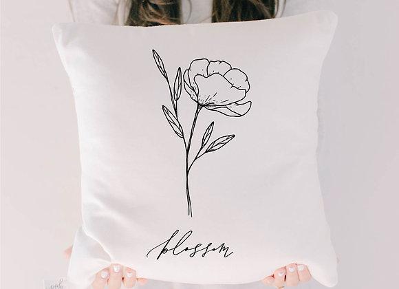 Blossom Wildflower Pillow