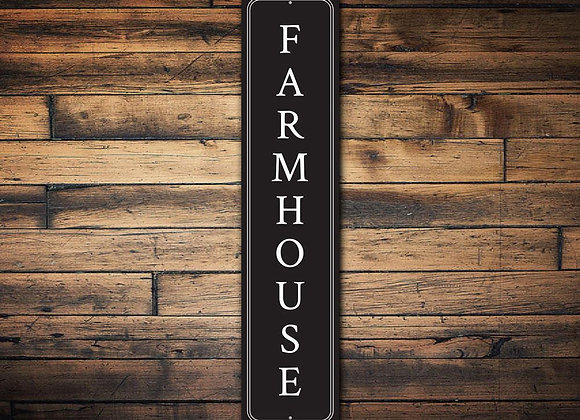 Vertical Farmhouse Sign