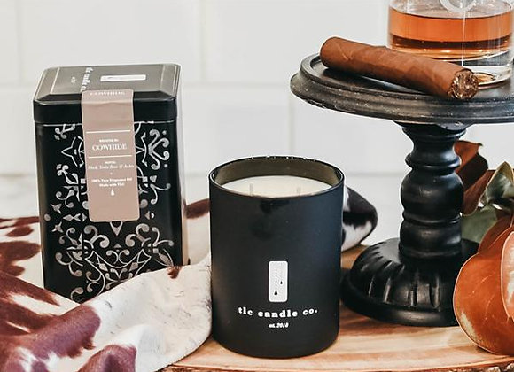 Cowhide - Leather Scented Candle