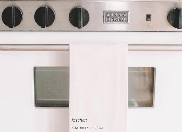 Kitchen Definition Tea Towel