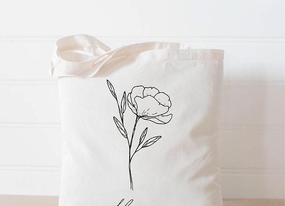 Blossom Wildflower Tote Bag