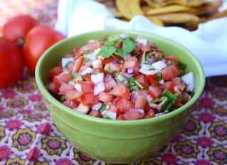 Heirloom Tomato Salsa