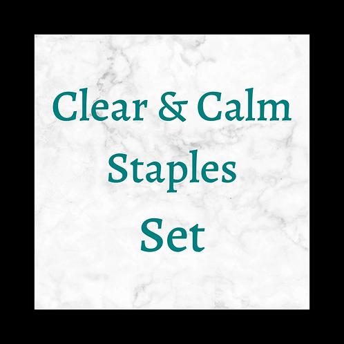 Clear & Calm Staples Set