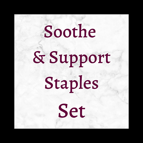 Soothe & Support Staples Set