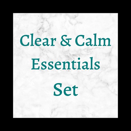 Clear & Calm Essentials Set