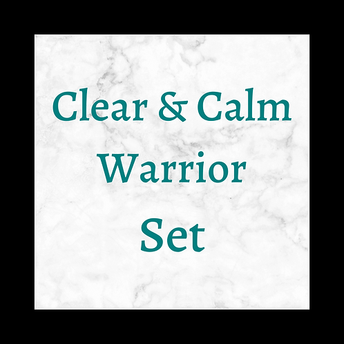 Clear & Calm Warrior Set