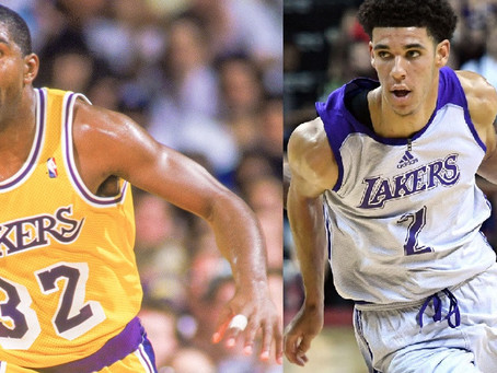 Magic Johnson to Lonzo Ball: The New Face of the Lakers