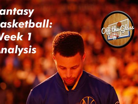 Fantasy Basketball: Week 1 Analysis