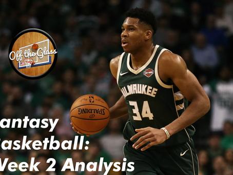 Fantasy Basketball: Week 2 Analysis