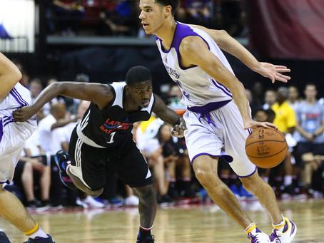 Lonzo Ball, Welcome to the NBA