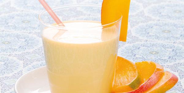 Smoothie mango ready to go
