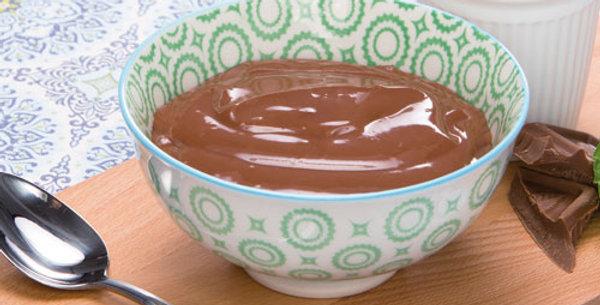 Chocolade pudding ready to go